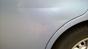 Дефект кузова Honda