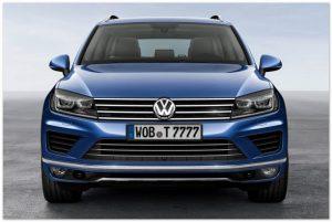 VW Touareg 2015 года