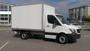Изотермический фургон от Мерседес