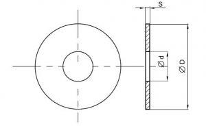 Схема шайбы