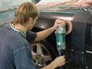 Зачистка кузова, как технология подготовки