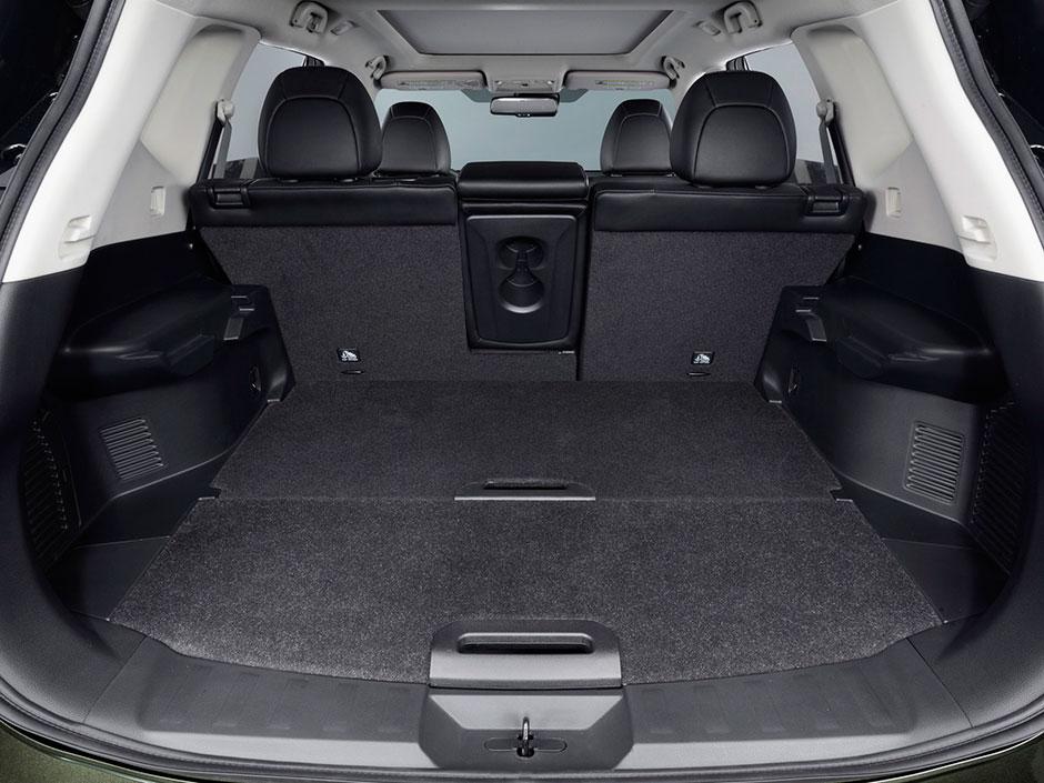 Просторное багажное отделение модели 2016 года