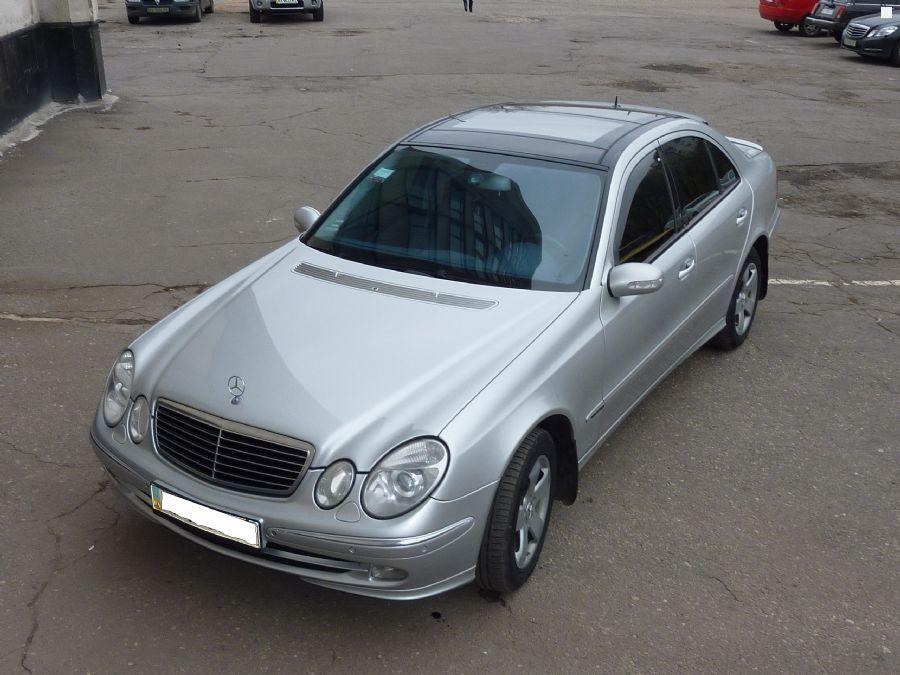 Модифицированная серия корпуса W211 выпуск 2004 год