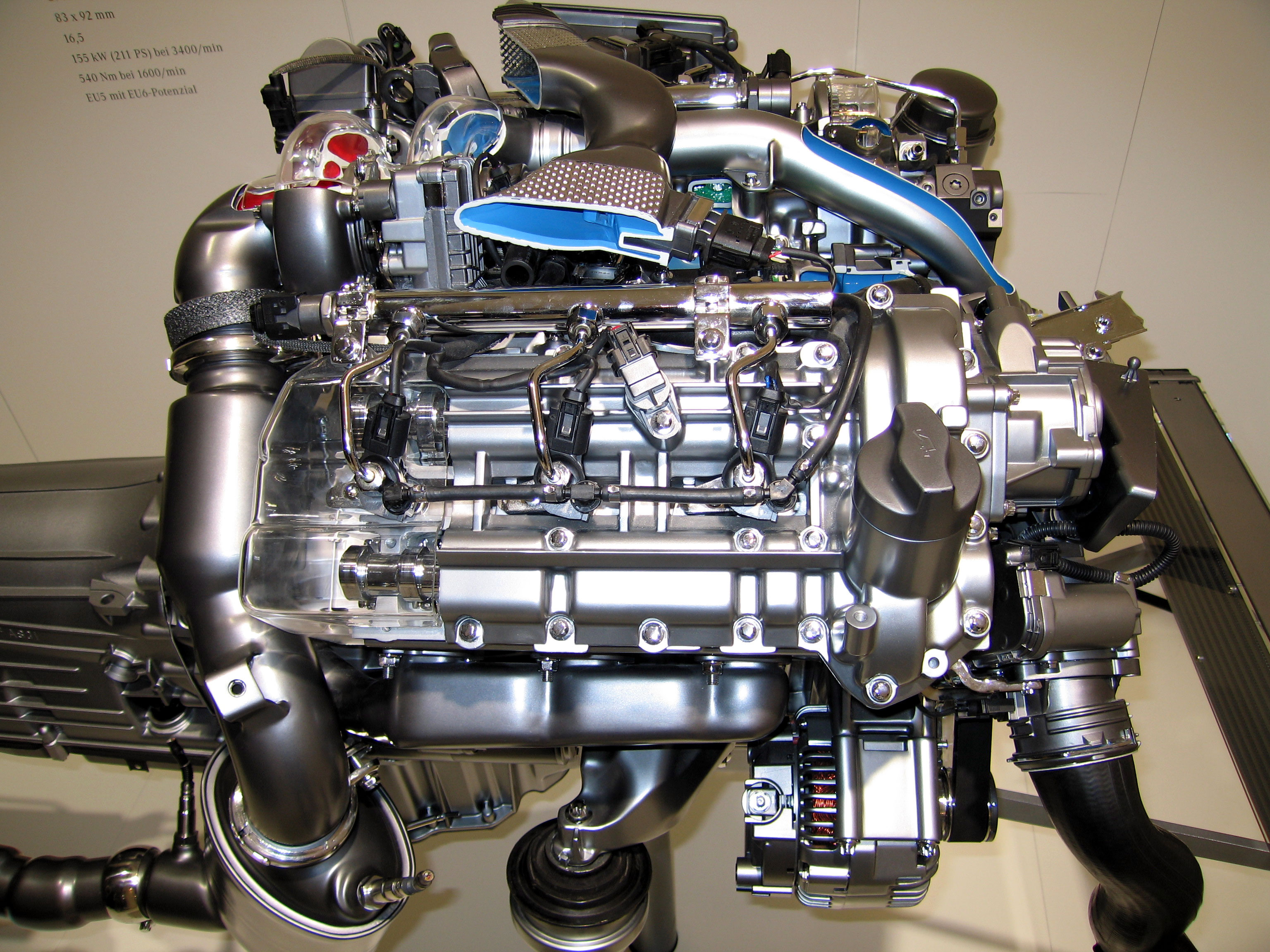 Мощный агрегат для Е-класса в кузове 211