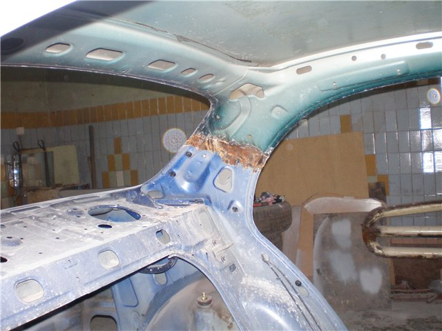 Замена крыши авто