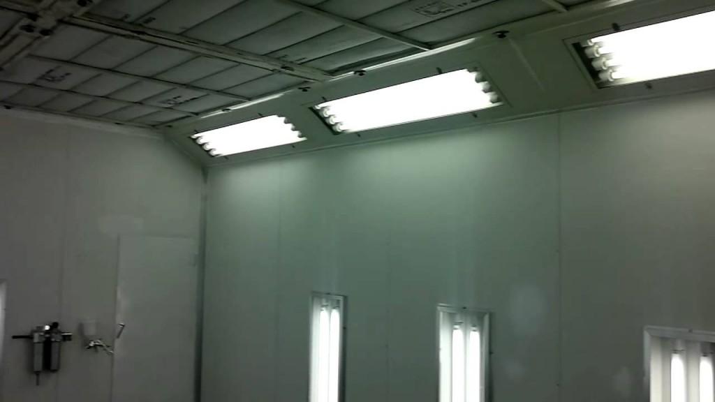 Свет для покрасочной камеры