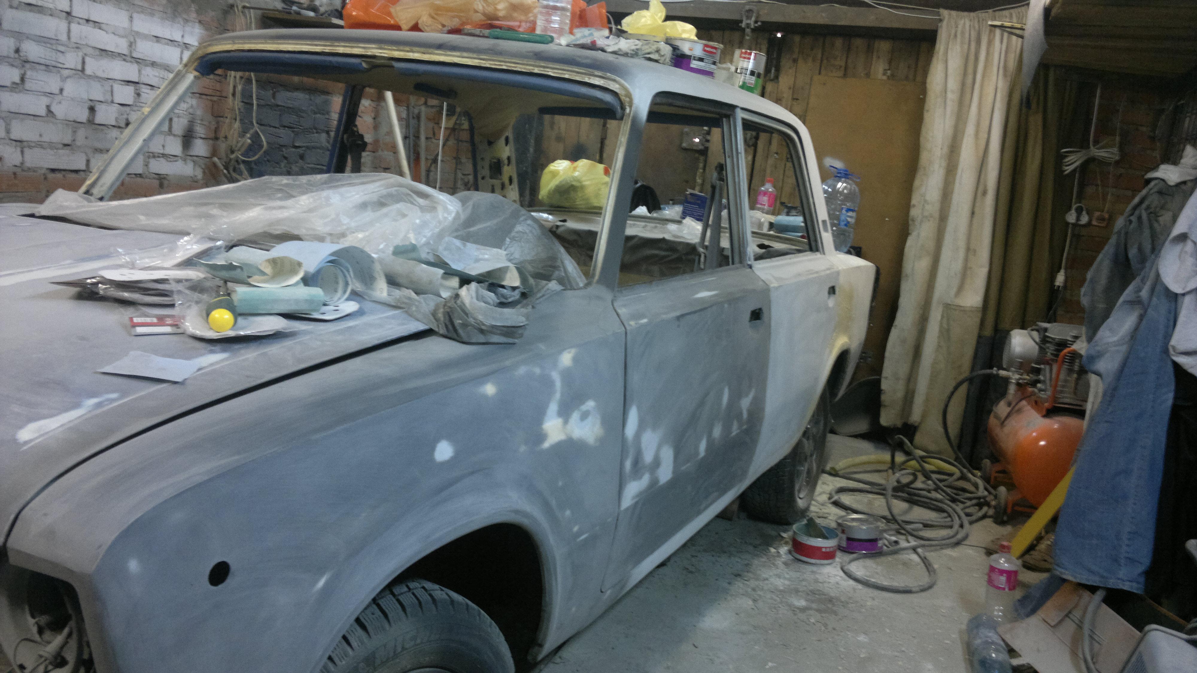 Сделать ремонт авто своими руками фото 179