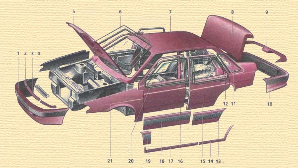 Оформление багажника ваз 2115, лада
