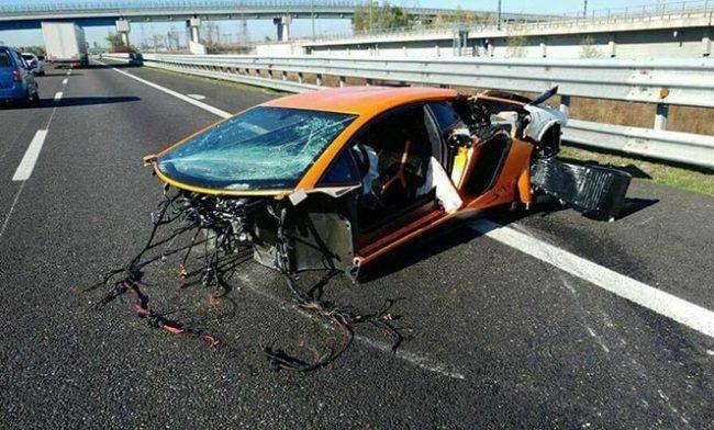 Авария на каршеринге